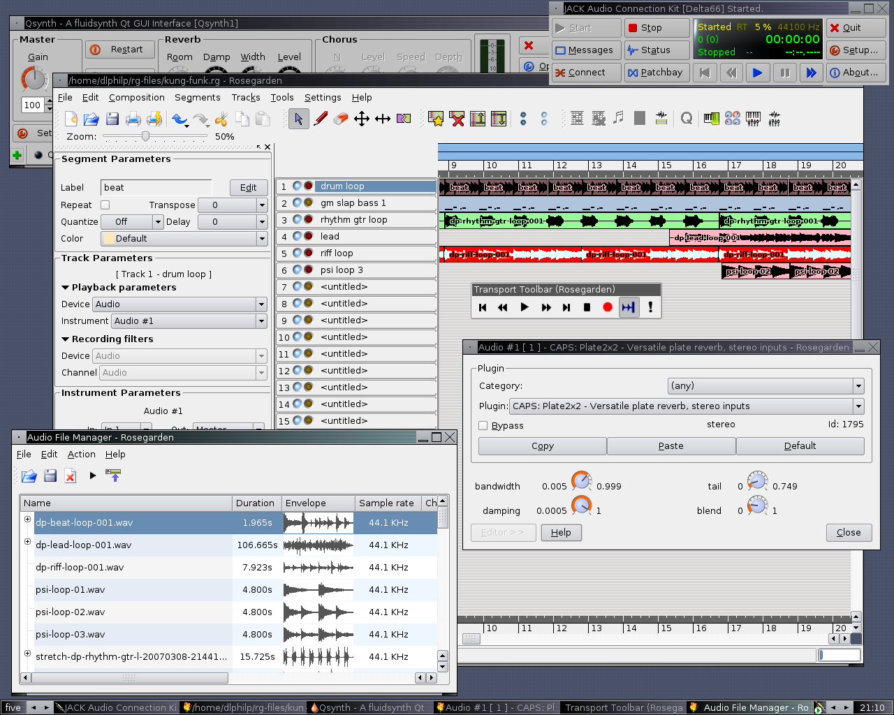 Making Music on Ubuntu Linux | stalker